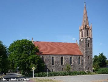 Kirche-Hohensaaten