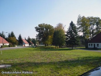Ortsdurchfahrt-Platkow