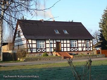 Fachwerk-Kolonistenhaus